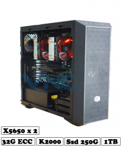 máy tính đồ họa render xeon x5650