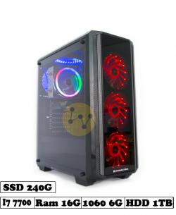 máy tính đồ họa render core i7 7700 - 1060
