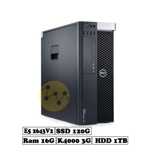 Dell precision t3610 - e5 2643v2-2