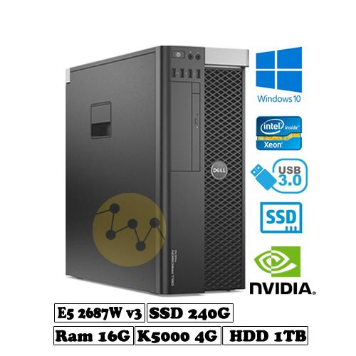 Dell precision t5810 - e5 2687w v3 - k5000