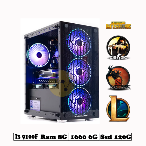 PC Gaming I3 9100-GTX1660 6G