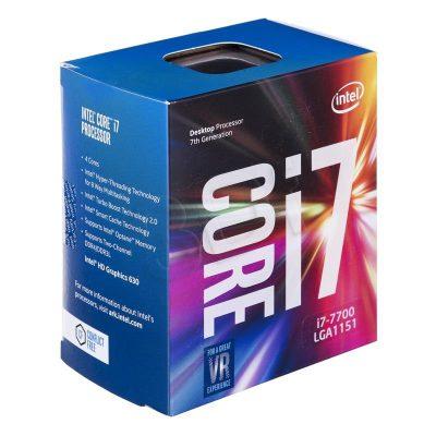 chip intel i7 7700