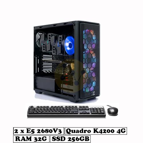 VNC50 Render - Dual Xeon E5 2680V3