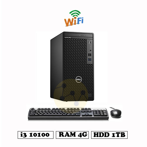 PC-Dell-Optilex-3080Tower-i3-10100-4G-1TB