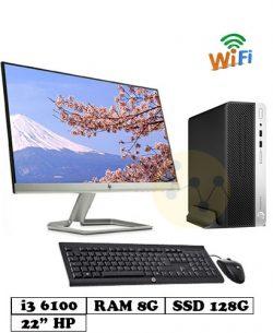 PC_HP_400G4_SFF_I3_6100_8G_128G_22inch