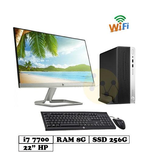 PC_HP_400G4_SFF_I7_7700_8G_256G_22inch