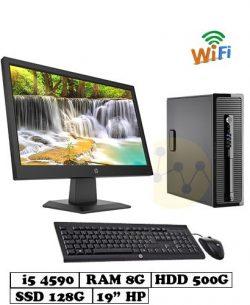 PC_HP_600G1_I5_4590_128G_500G_19inch