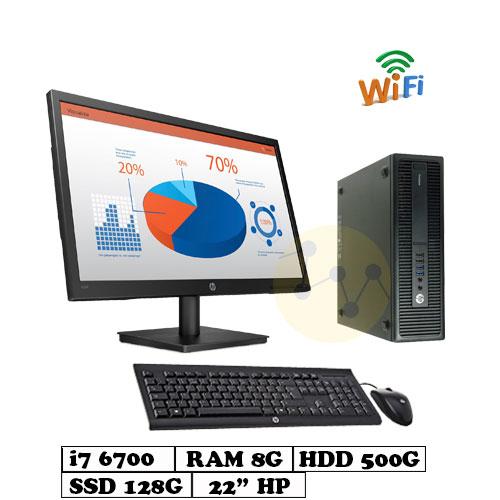 PC_HP_600G2_i7_6700_128G_500G_22inch_2