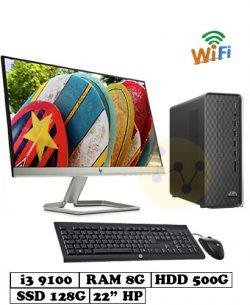 PC_HP_S01-pF0101d_i3_9100_8G_128G_500G_22inch